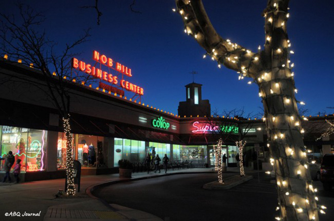 Nob Hill Holiday Shop & Stroll in Albuquerque, New Mexico