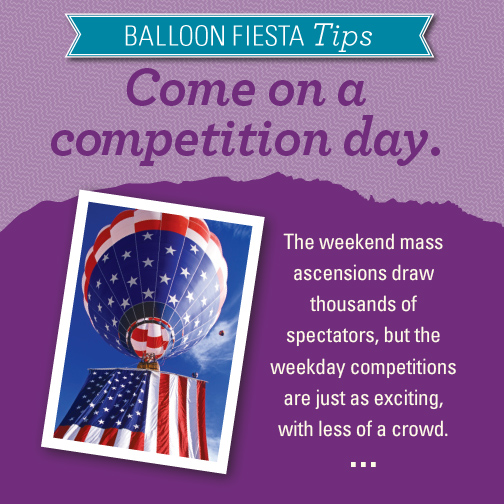 Tips for the Albuquerque Balloon Fiesta