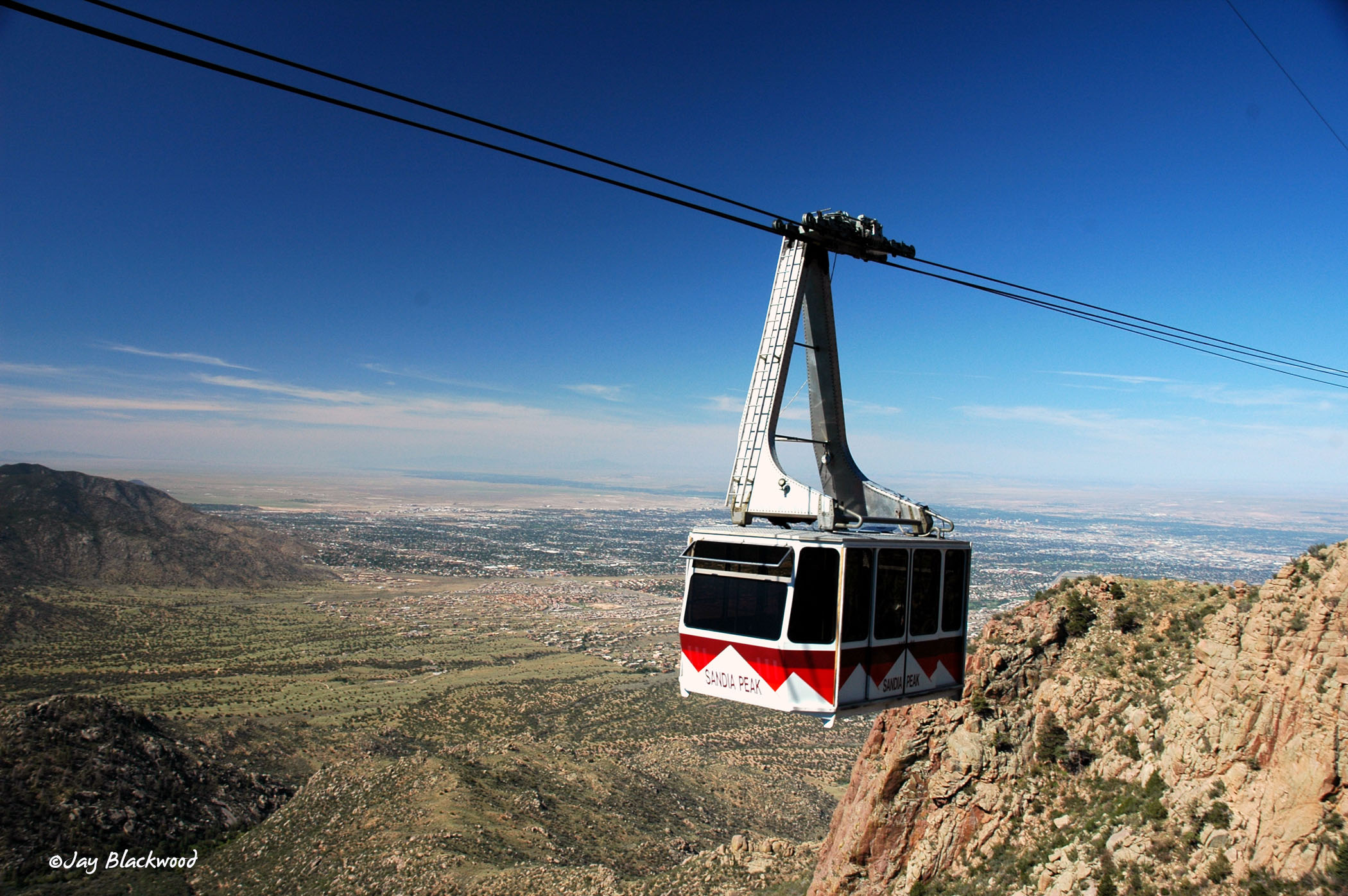 Sandia Peak Aerial Tramway in Albuquerque