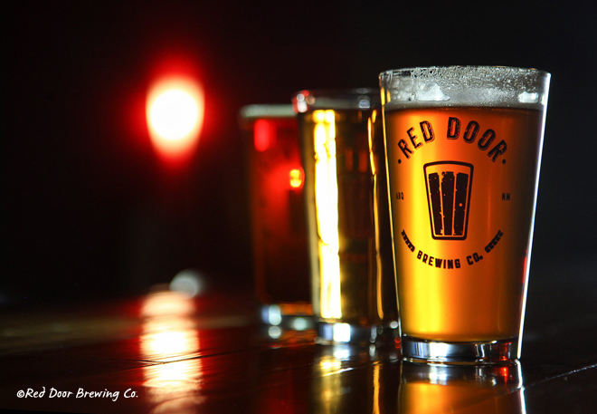 Red Door Brewery in Albuquerque, New Mexico