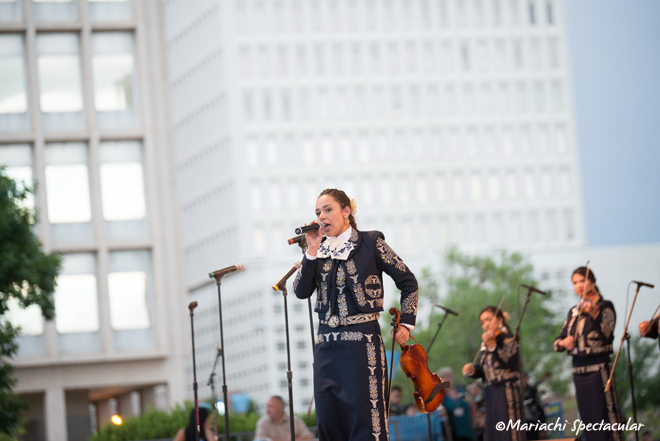 Mariachi Spectacular on Civic Plaza in Downtown Albuquerque