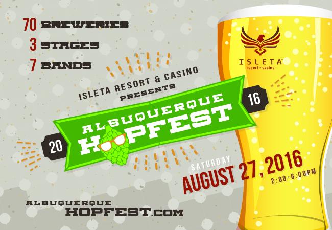 Albuquerque Hopfest 2016 at Isleta Resort & Casino