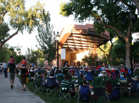 Outdoor Summer Concert Series at the Albuquerque BioPark Zoo