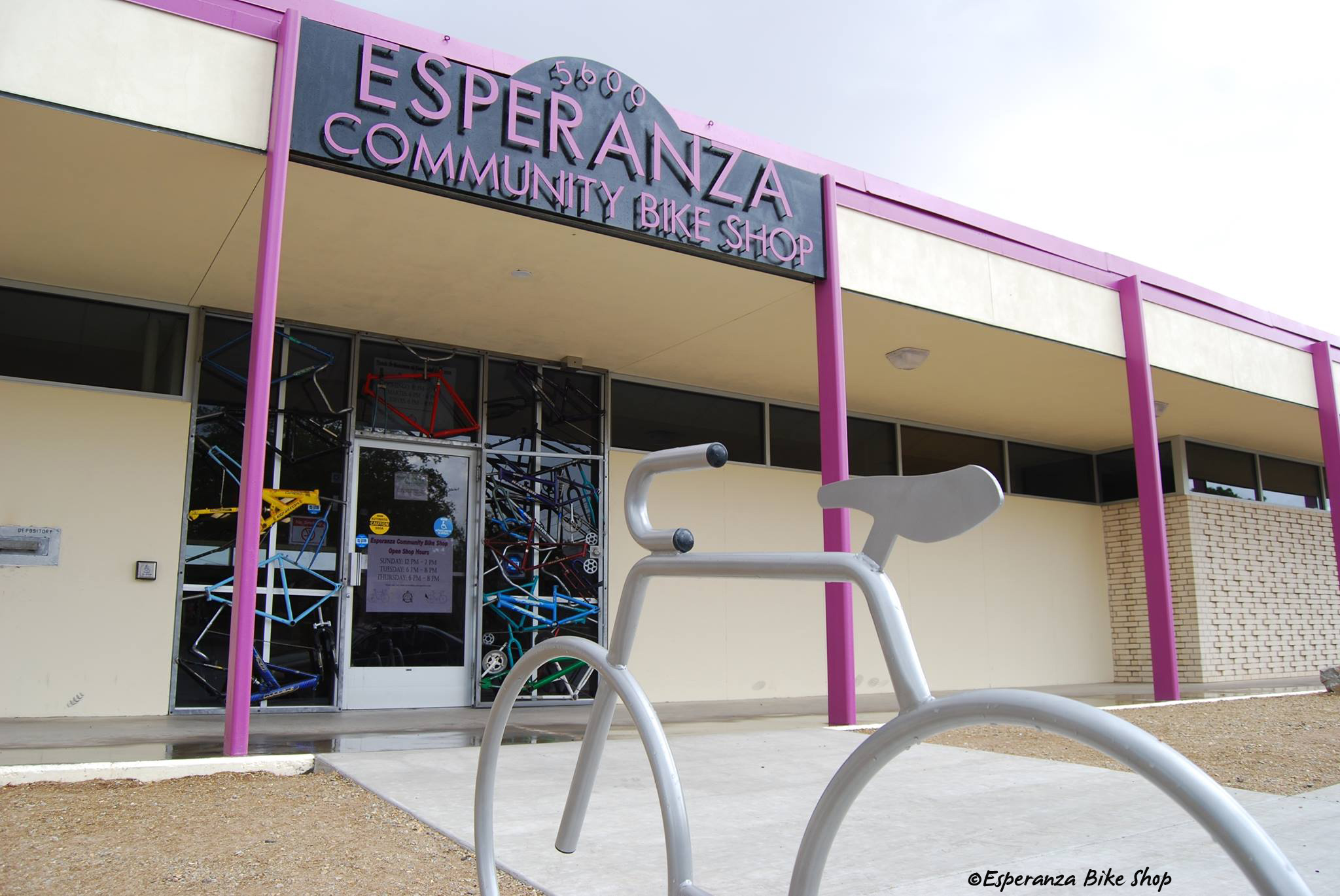 Esperanza Community Bike Shop in Albuquerque