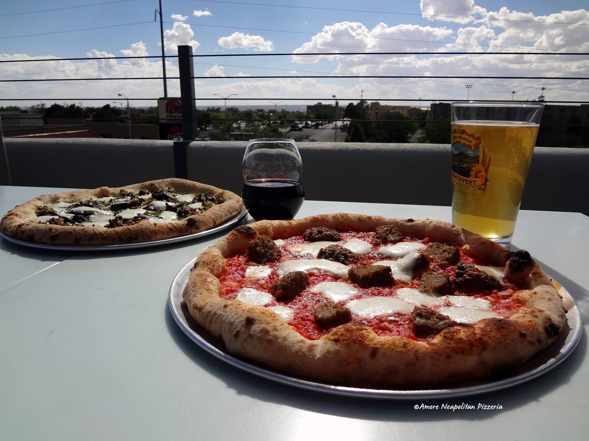 Amore Neapolitan Pizzeria in Nob Hill, Albuquerque
