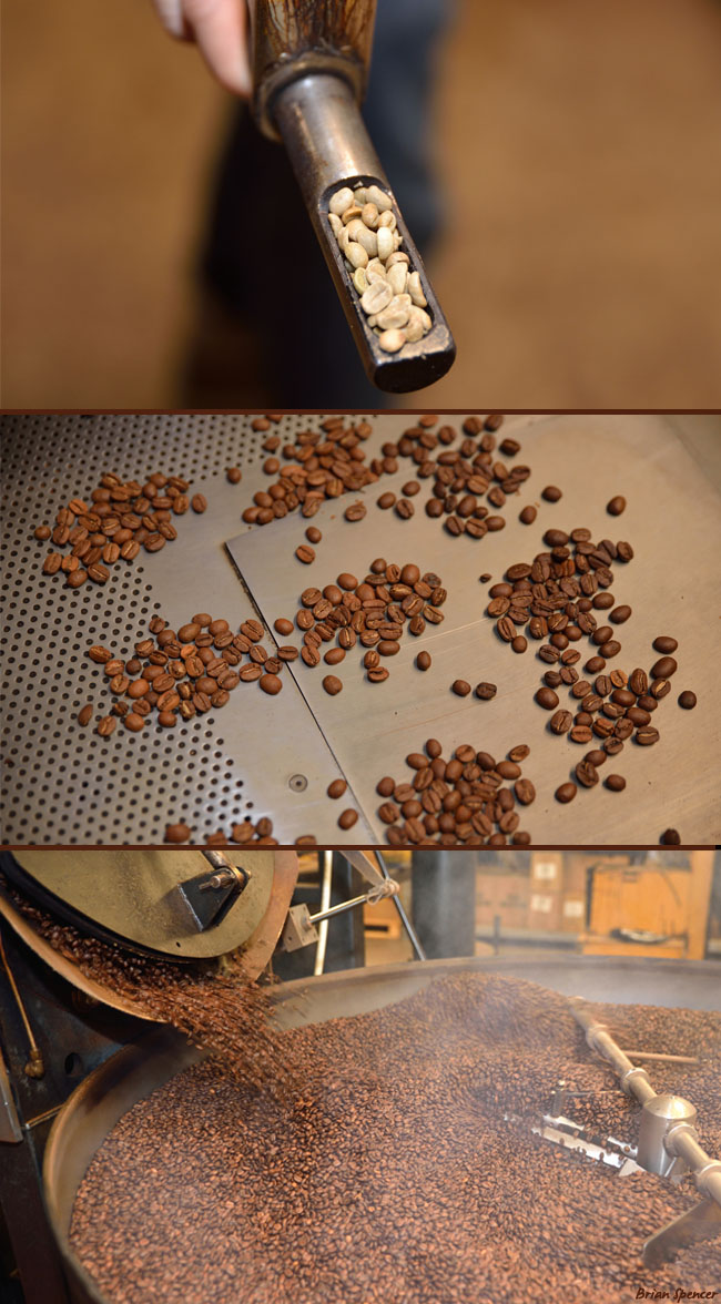 New Mexico Piñon Coffee Roasting Experience
