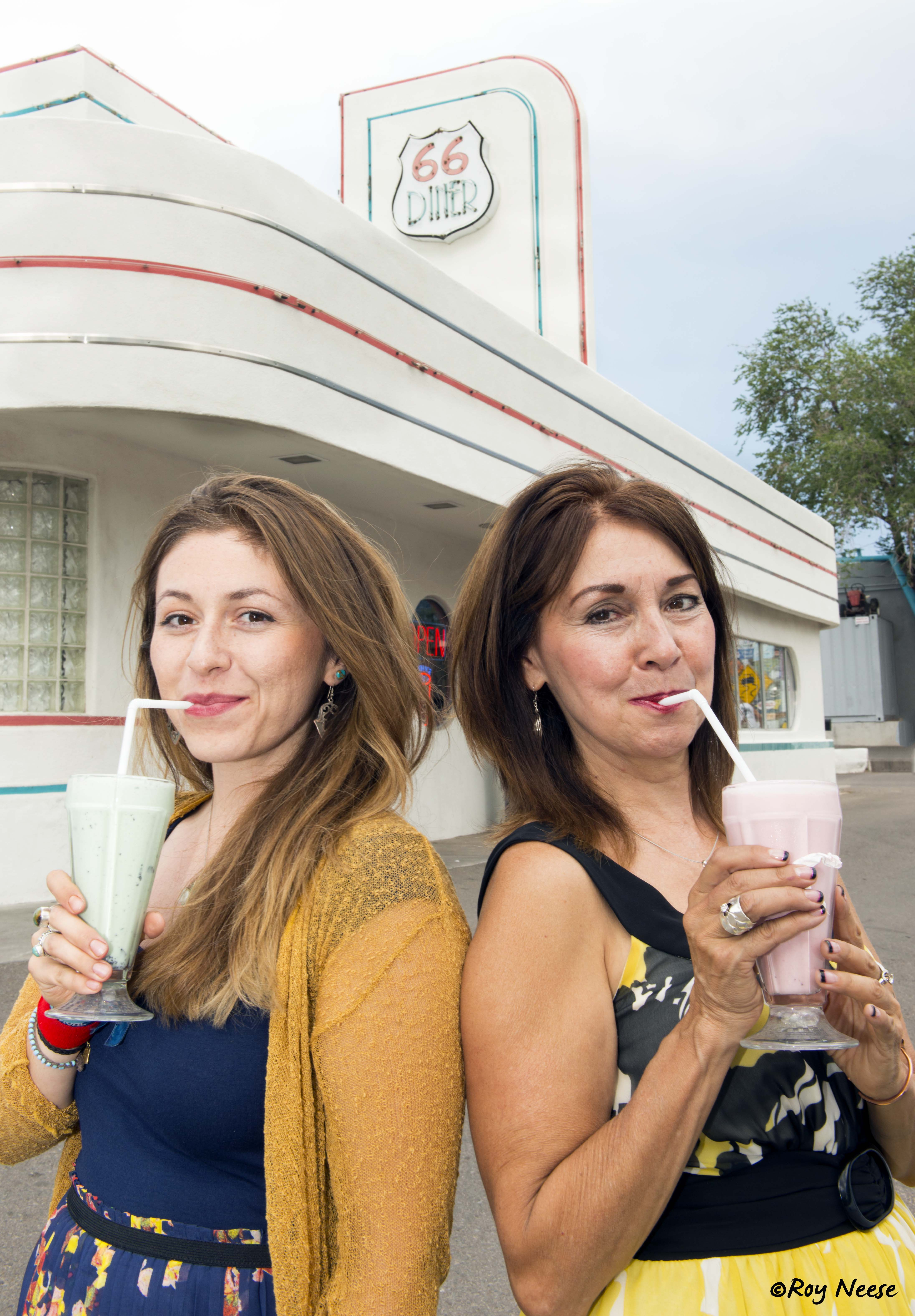 Route 66 Diner Milkshakes in Albuquerque