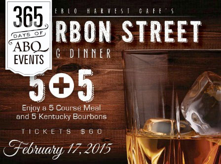 Bourbon Street Pairing Dinner at Pueblo Harvest Café - VisitAlbuquerque.org