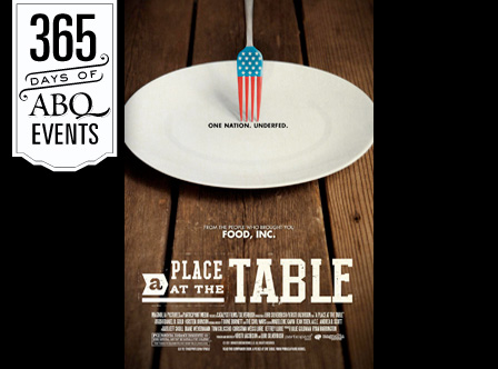 Film Screening: A Place at the Table - VisitAlbuquerque.org