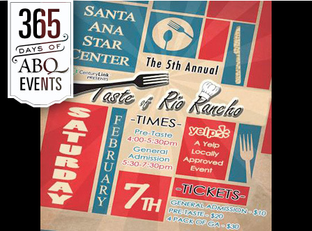 5th Annual Taste of Rio Rancho - VisitAlbuquerque.org