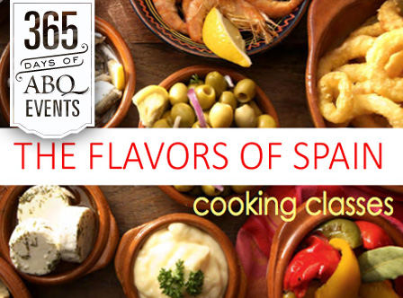 Cooking Class: The Flavor of Spain - VisitAlbuquerque.org