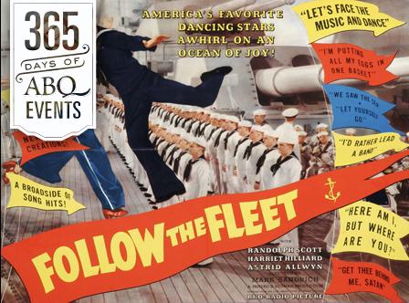 Movie Musicals at the KiMo: Follow the Fleet - VisitAlbuquerque.org