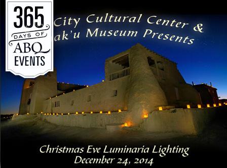 Sky City Cultural Center & Haakú Museum Christmas Eve Luminarias - VisitAlbuquerque.org