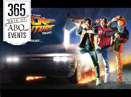 Holiday Cinema at the KiMo: Back to the Future Trilogy - VisitAlbuquerque.org