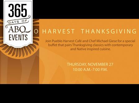 Pueblo Harvest Thanksgiving - VisitAlbuquerque.org