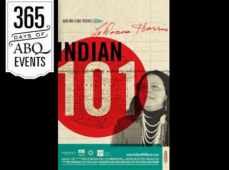 Community Cinema: LaDonna Harris-Indian 101 - VisitAlbuquerque.org