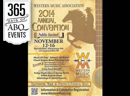 Western Music Association Annual Convention - VisitAlbuquerque.org