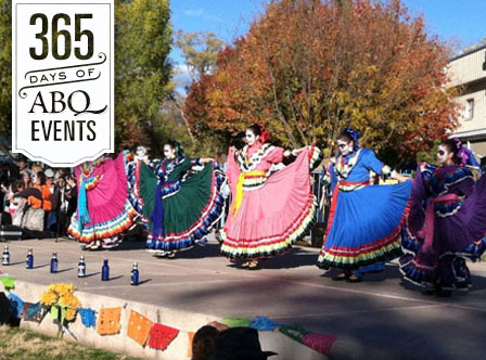22nd Annual South Valley Dia De Los Muertos Marigold Parade and Celebration - VisitAlbuquerque.org