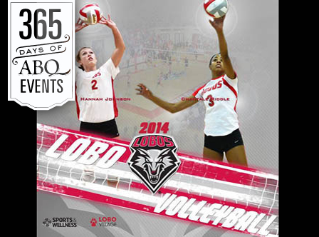 UNM Women's Volleyball vs UNLV - VisitAlbuquerque.org