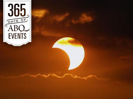 Partial Solar Eclipse Viewing - VisitAlbuquerque.org