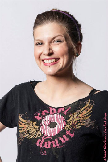 Becky V of Rebel Donut - Courtesy of ©Donut Showdown