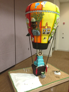 ICES Show Cake - New Mexico Balloon