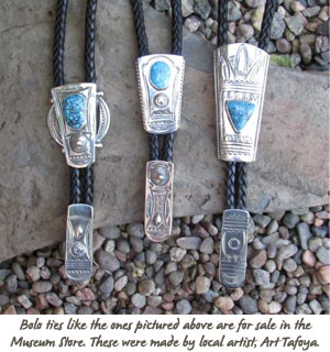Bolo Ties for sale at the Museum Store