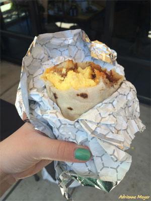 Breakfast Burrito - Adrienne Meyer