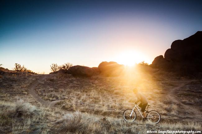 Kevin Lange - Sandia Foothills Biker