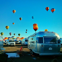 Mali-Mish AirStream at Balloon Fiesta 2013