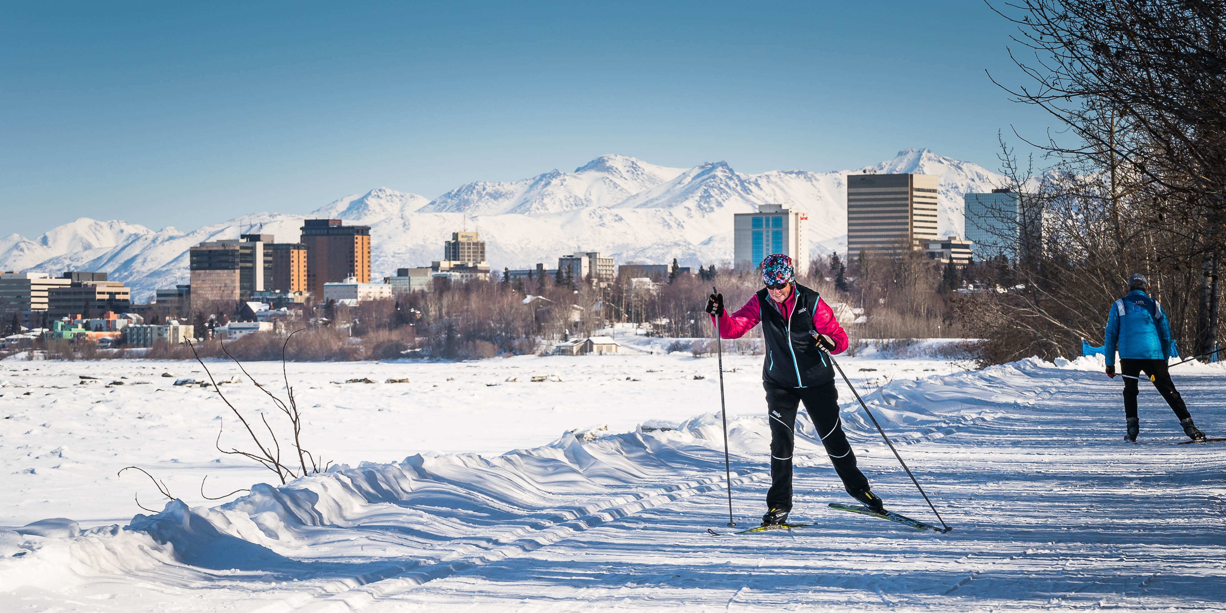 Image result for cross country skiing anchorage