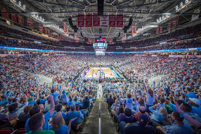 NCAA Basketball crowd