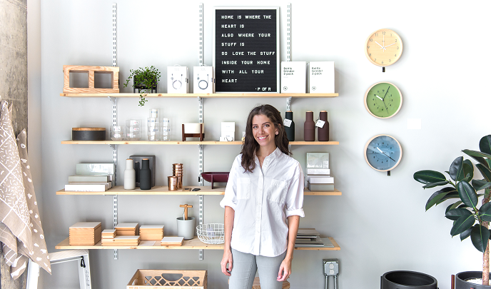 Shopping Locally in Downtown Raleigh with Port of Raleigh's Ana Maria Muñoz