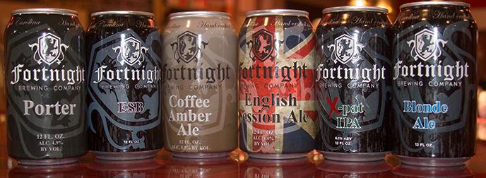 Fortnight beers