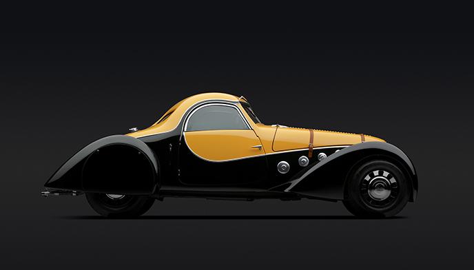 Peugeot 402 Darl'mat Coupe, 1936