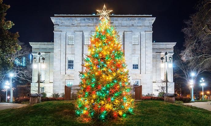 State Capitol Tree Lighting Ceremony