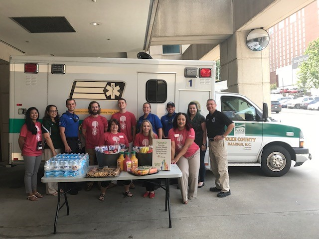 The Greater Raleigh CVB at Wake County EMS