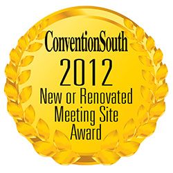 ConventionSouth New & Renovated Meeting Site Award