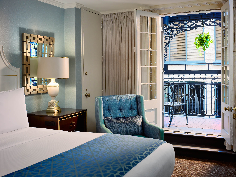 Bourbon Street Balcony Hotels