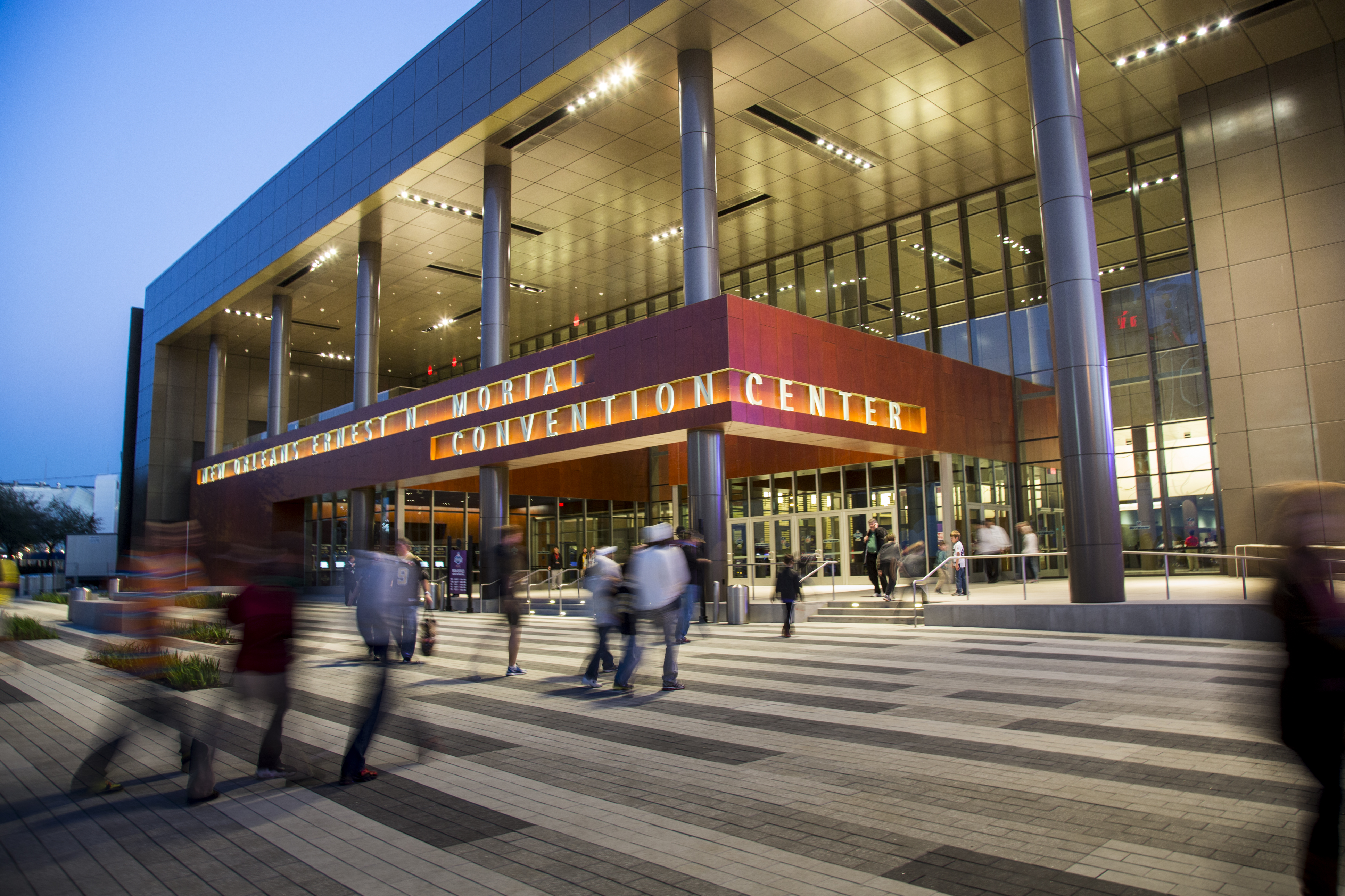 New Orleans Ernest N Morial Convention Center