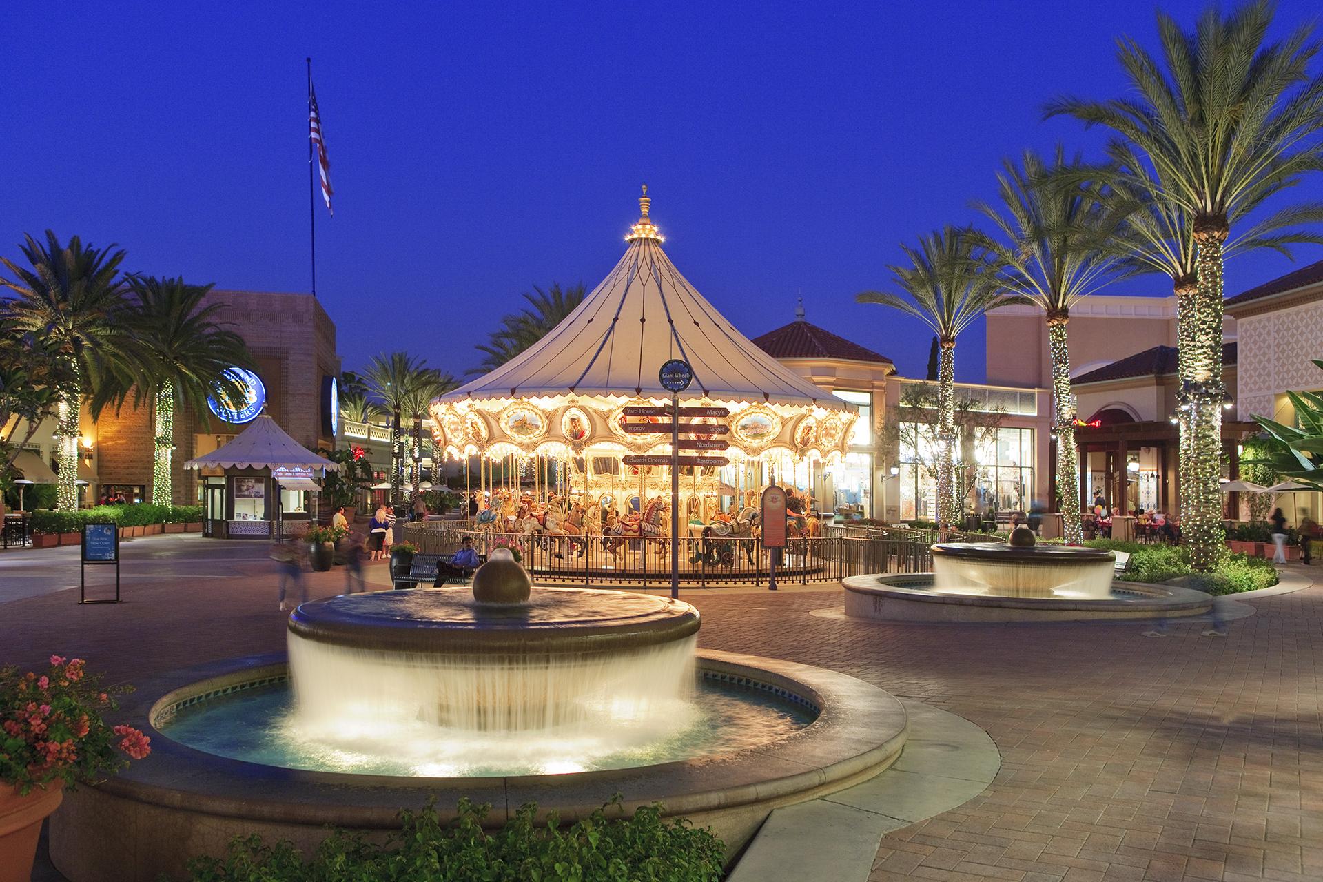 Irvine Spectrum Center Entertainment Shopping Information