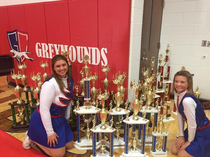 Grove City HS Band awards