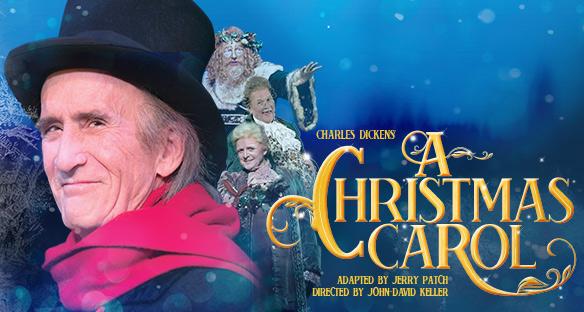 A Christmas Carol Live Play Poster