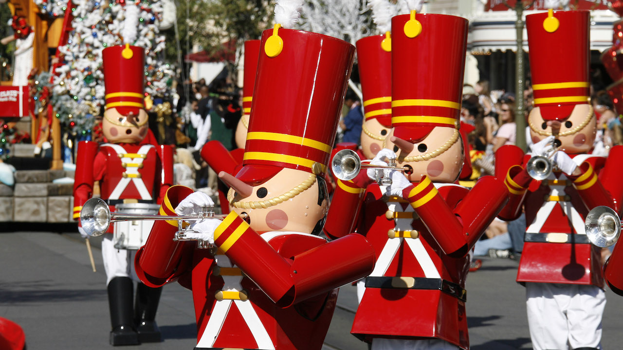Nutcracker Parade Disneyland
