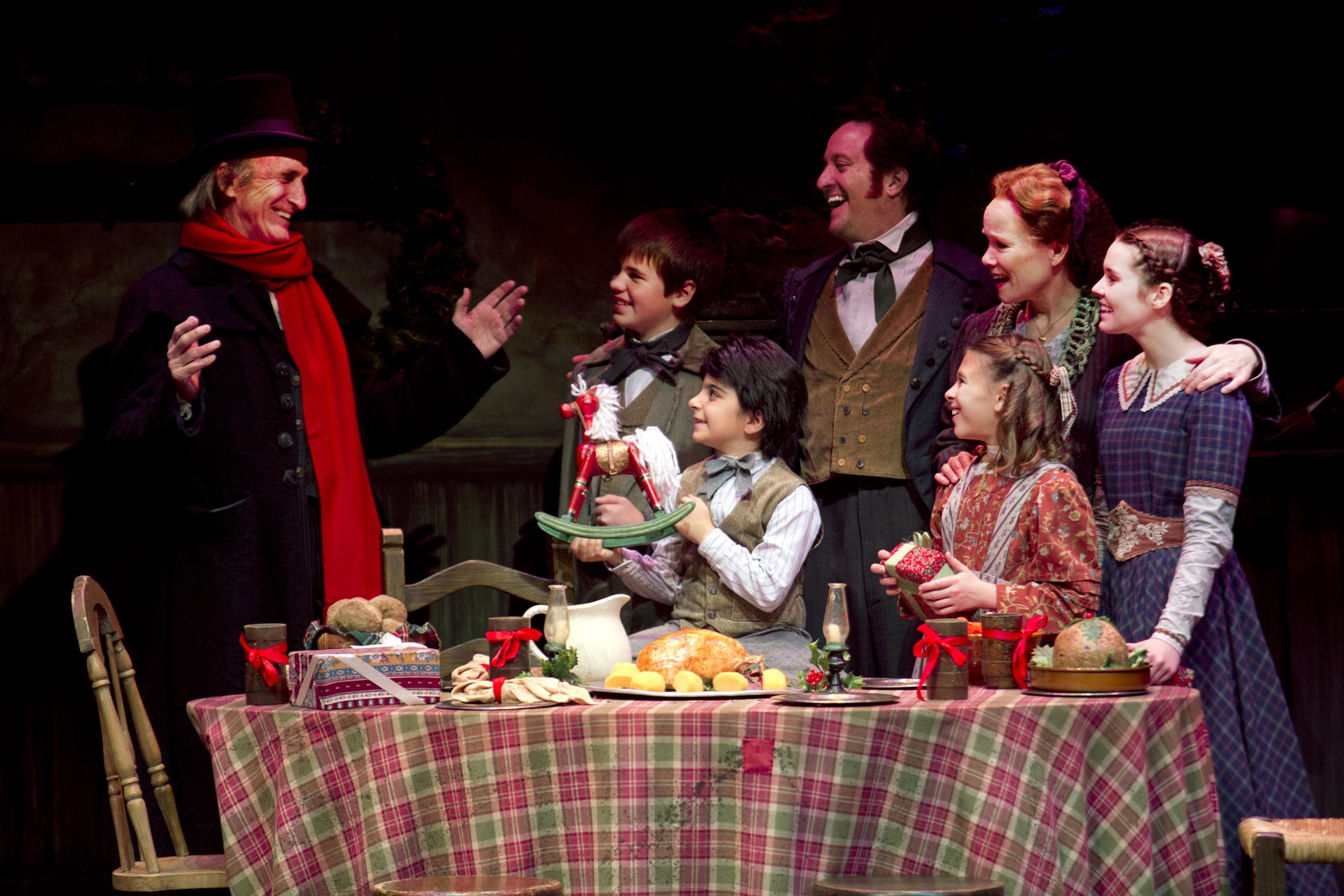 A Christmas Carol Live Play Dinner