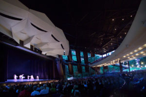 SPAC provides great indoor seating for concerts and attractions