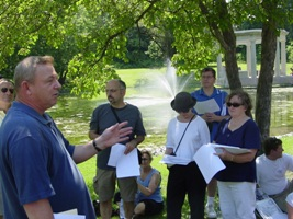 Saratoga Walking Tours