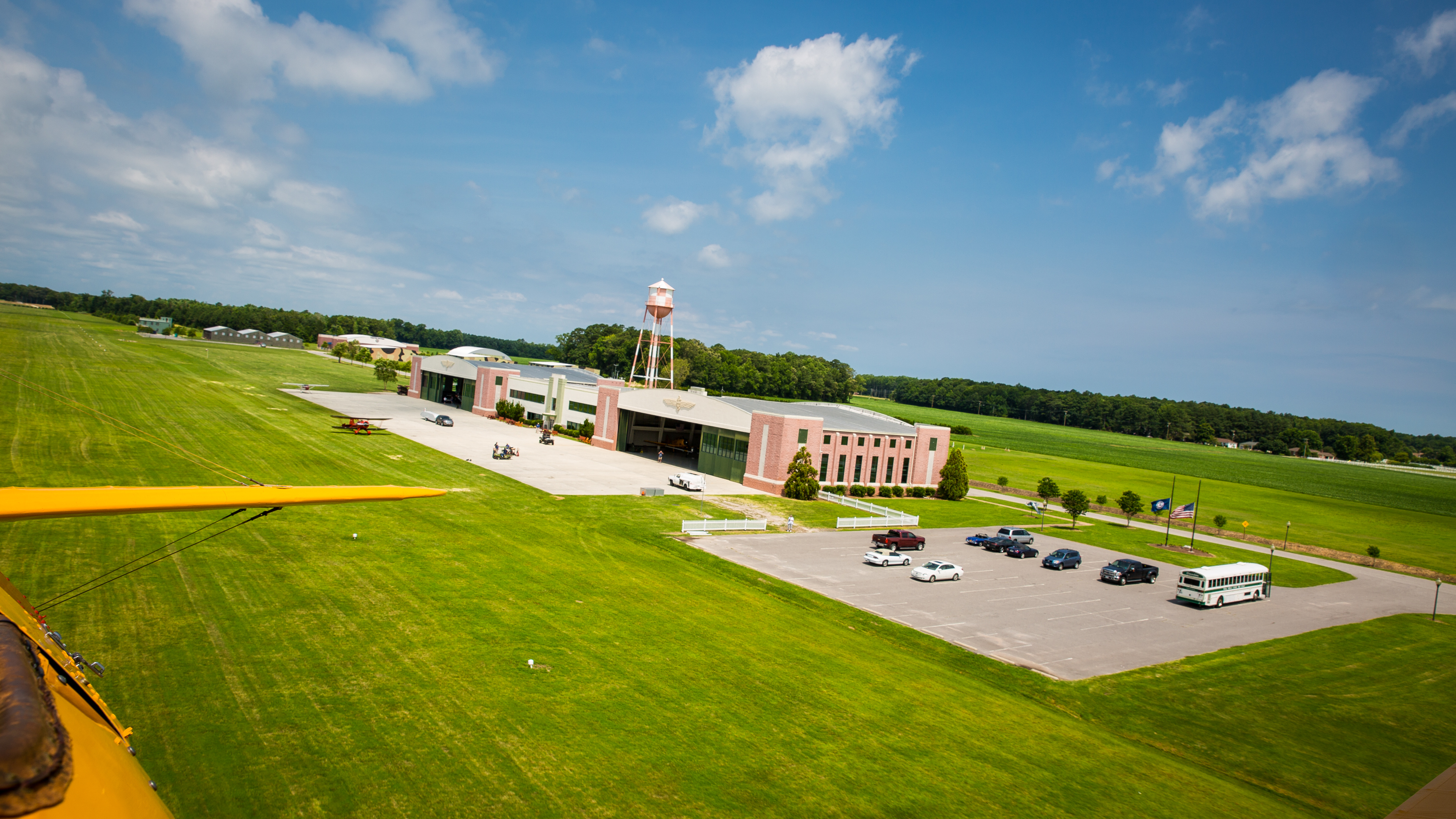 The Vintage 1930 S Art Deco Airplane Hangars And Sprawling Airfield Of Virginia Beach Military Aviation Museum Are A Must See For Locals Visitors