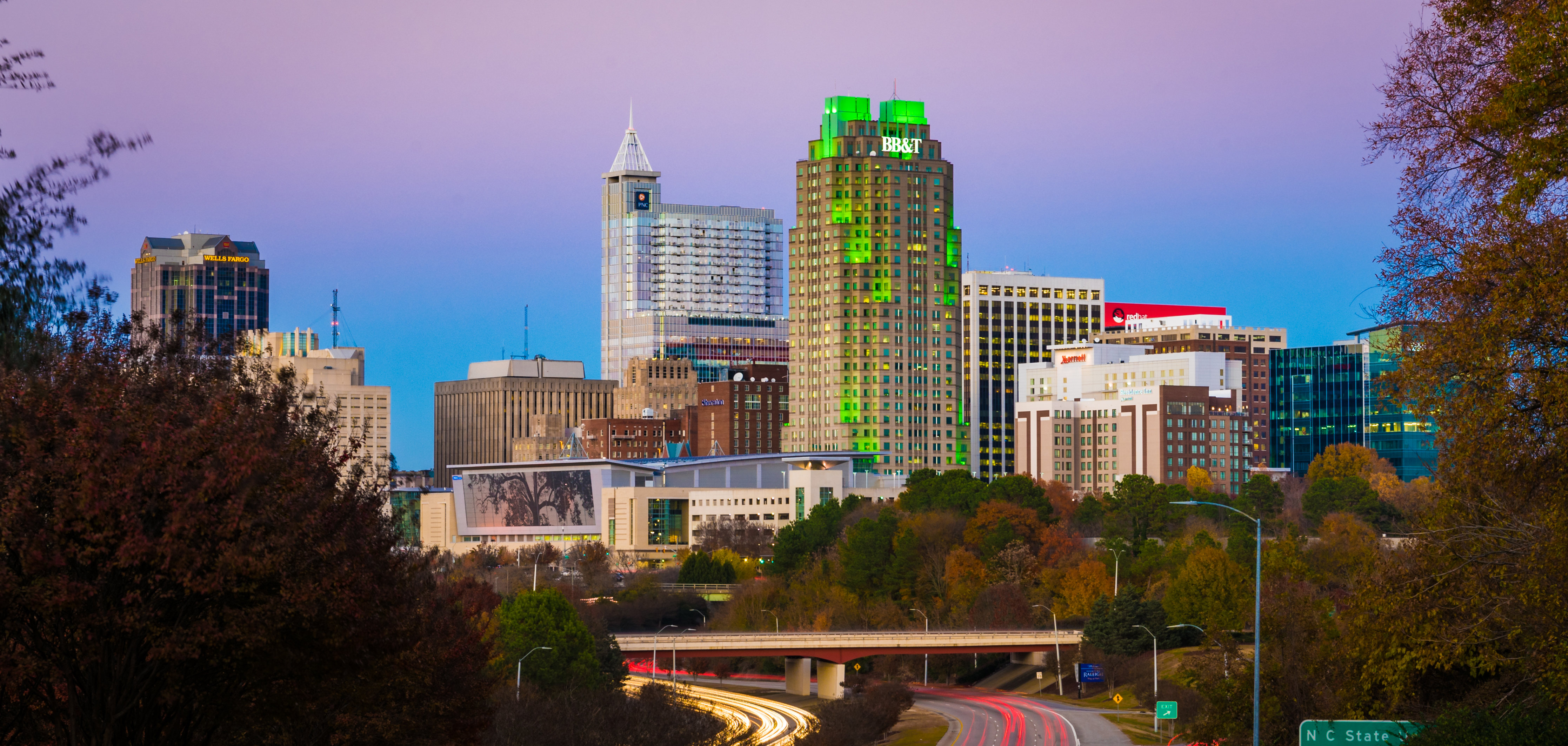 Raleigh, N.C., Maps | Downtown Raleigh Map on