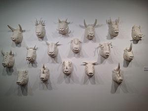 Giuseppe Pellicano pig heads